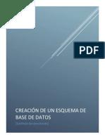 Creación de Un Esquema de Base de Datos