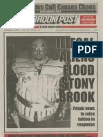 The Stony Brook Press - Volume 19, Issue 13