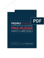 Plano de Governo Pedro Taques 2014