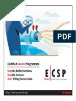ECSP Brochure