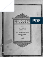 Bach's Well Tempered Clavier