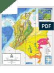 Mapa Geologico de Colombia