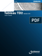 Tableau TD2 Users Guide-1