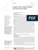 CIA 53305 Quality of Life in Elderly Patients With Chronic Heart Failu 111413