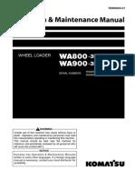Operación WA900-3E0 (ING)