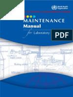 185935393 Maintenance Manual for Laboratory Equipment