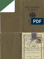 Deutsches Reich - Reisepass - 1931
