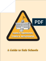 Early Warning Timely Response a Guide to Safe Schools