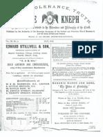 Masonic Journal 1883
