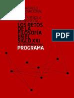 I Congreso REF Programa