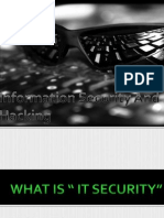 Security and Hacking PPT