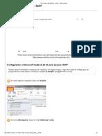 Microsoft Outlook 2010 - Configuração de Email