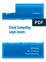 DLA_Cloud Computing Legal Issues