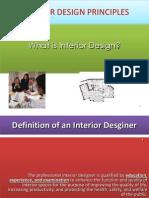 Interior Design Principles