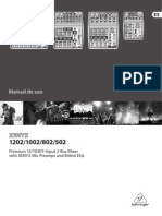 Behringer XENYX - Manual de Uso