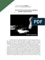 Origen y Evolucion de La Moral - Kropotkin, Piotr