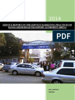 SERVICE REPORT ON THE SERVICE MARKETING PRACTICES OF BANGLADESH ROAD TRANSPORT AUTHORITY [BRTA]