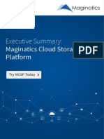 Maginatics offers unmatched scalability and elasticity for object storage