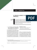 (Impreso) Falzea-Negocio Jurídico y Autonomía Individual