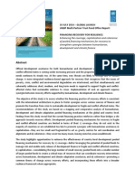 ABSTRACT - Financing Recovery for Resilience Report - 10 July 2014
