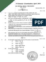 Digital Signal Processing April 2010 (2006 Ad)