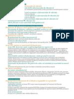 Documente de Încarcat Pe Platforma ARACIP