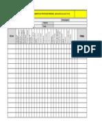 Registro de Entrega de EPP