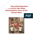 Latin Mass Booklet