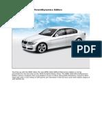 2010 Bmw 320d Efficientdynamics Edition