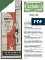 Subbuteo Club Magazine Mag3