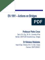 Action on Bridges