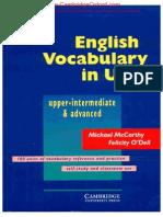 Vocabulary in Use Cambridge