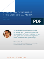 educating consumers through social media