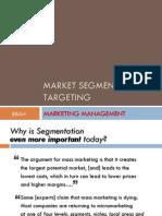 6 - Market Segmentation & Targeting COPY