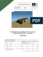 Doc 5b3 Procedimiento de Instalación Del Apron Feeder