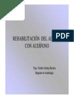 Rehabilitacion de Adultos Con Audifono