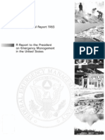 FEMA - 1983 - A Report to the President on EM in the US-Annu