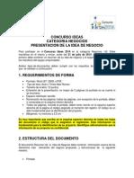 Presentacion de La Idea de Negocio2014