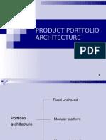 Porfolio architecture