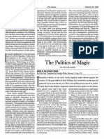 GRAEBER, David - The Politics of Magic