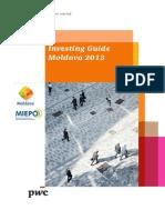 Investing Guide Moldova 20131