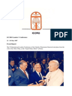 ICCRO Leaders' Conference 1987