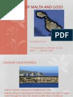 Geology of Malta and Gozo