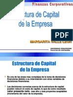 Estructura de Capital Optima