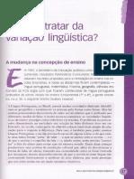 03 Por Que Tratar Da Variacao Linguistica