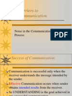 Copy of Barriers to COmmunication