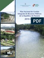 Plan Nacional de Gestión Integrada de Recursos Hídricos