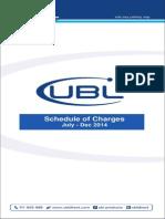 ScheduleofBankCharges-Jul Dec 2014