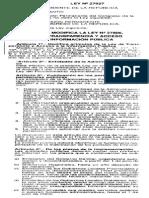 27927 Ley de Transperencia