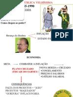 Sarney Collor Itamar Fhc